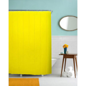 Shower Curtain - Yellow - 2